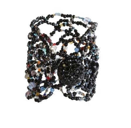 Shimmer-Multi-Stone Cuff
