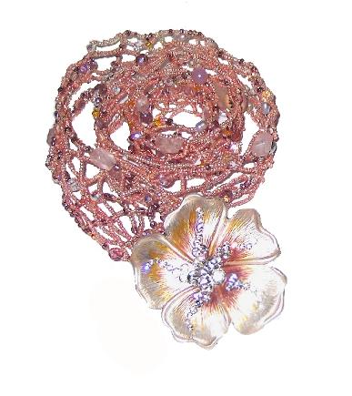 Pink Flower Belt