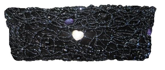 Black Onyx Stone Bag