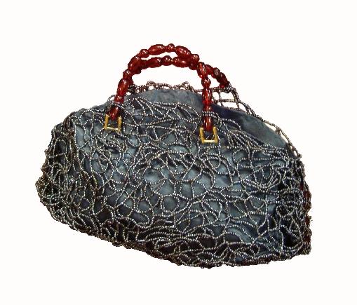 Extra Large Hematite Street Handbag